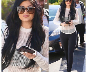 mesh top and kylie image