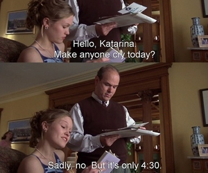 funny, movie, and 10 things i hate about you image