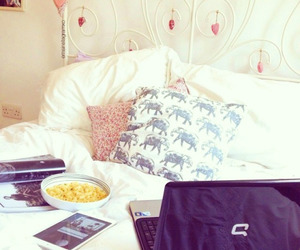 bed, fashion, and hipster image