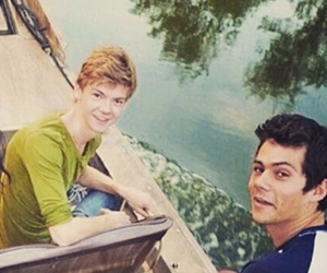 dylan o'brien and thomas brodie sangster image