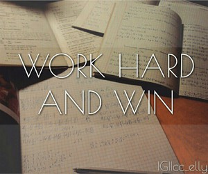 fighting, hard, and win image