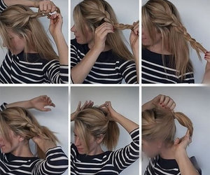 hair, hairstyle, and women hairstyle image