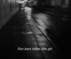 run, grunge, and sad image
