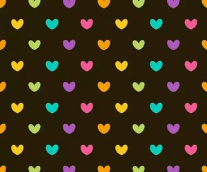 color, hearts, and tumblr image