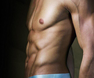 abs, hunk, and male model image