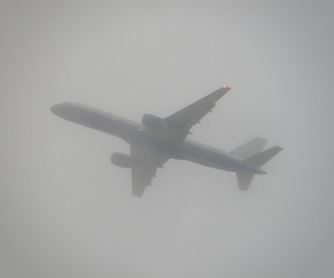 pale, grunge, and plane image