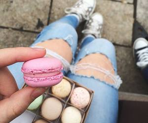 food, sweet, and jeans image