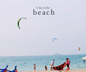 beach and summer image
