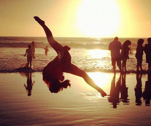 awesome, beach, and tumbling image