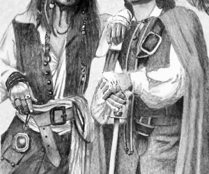 and, johnny deep, and orlando bloom image