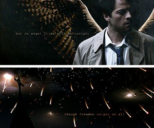 supernatural and cas image