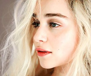 actrice, emilia clarke, and game of thrones image