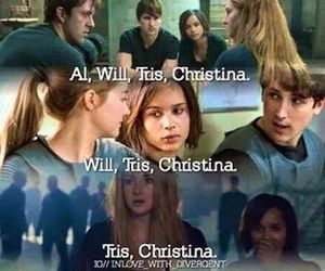 divergent, christina, and insurgent image