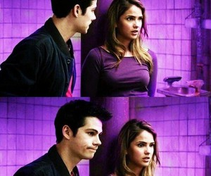 stalia, teen wolf, and dylan o'brien image
