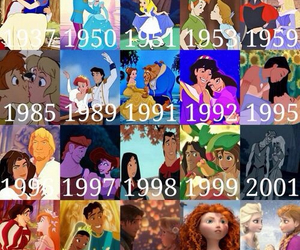 colors, love, and disney image