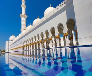 mosque, abudhabi, and shaikhzayed image