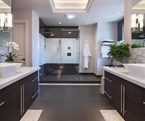 bathroom, beautiful, and home image