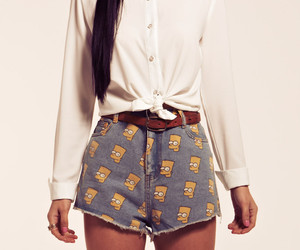 girly, simpson, and swag image