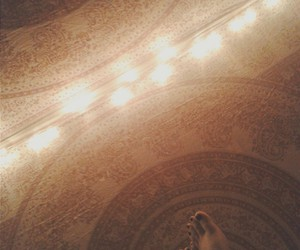 aztec, feet, and lights image