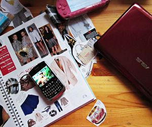 blackberry, computer, and fashion image