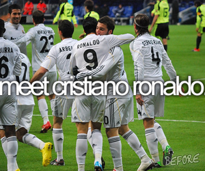 cristiano ronaldo, real madrid, and before i die image