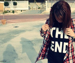girl, style, and end image