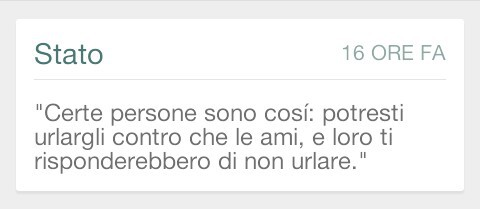 Stati Di Whatsapp Discovered By Cmay On We Heart It