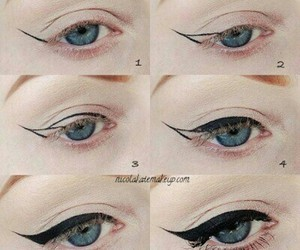 make up and simple image
