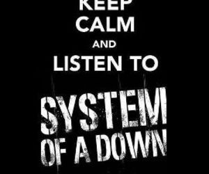 system of a down and keep calm image