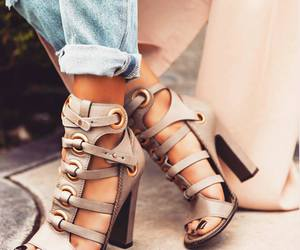 style, fashion, and heels image