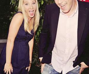 cory monteith, heather morris, and glee image