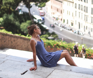 dress, girl, and italy image