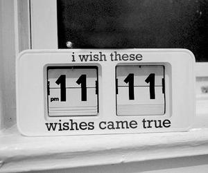 wish, 11:11, and clock image