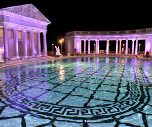 pool, luxury, and Versace image