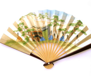 bamboo, etsy, and fan image