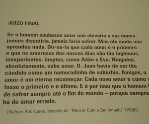 amor, Nelson Rodrigues, and texto image
