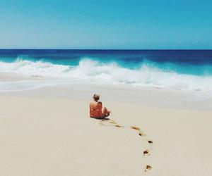 adventure, beach, and travel image