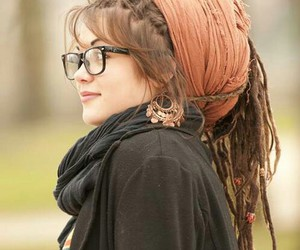 dreads, hair, and indie image
