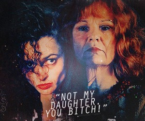 harry potter, molly weasley, and bellatrix image
