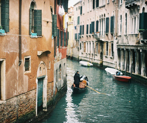 boat, italy, and indie image