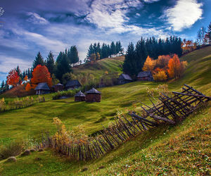 romania and hills image