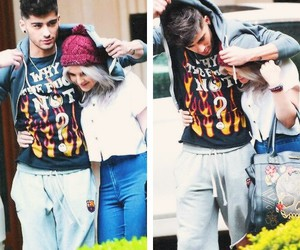 zayn malik, one direction, and perrie edwards image