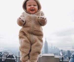 baby, bear, and city image