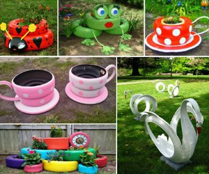 diy, gardening, and recycling image