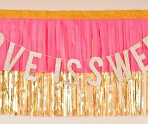 banner, classy, and decoration image