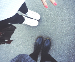 dr martens, grunge, and legs image