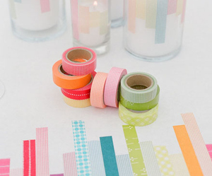 colors and washi tape image
