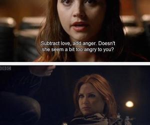 doctor who, karen gillan, and jenna coleman image