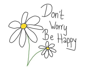flowers, happy, and daisy image