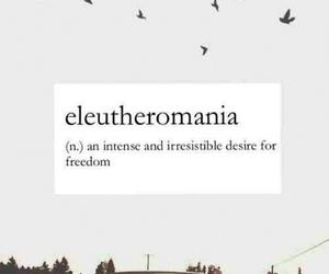 freedom, eleutheromania, and love image